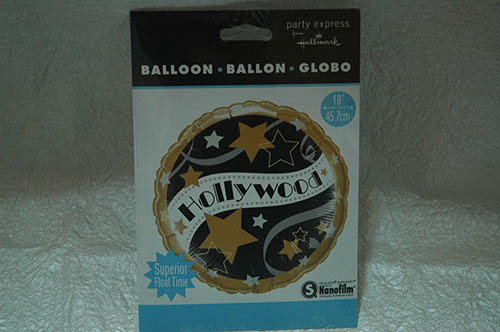 Palloncino  stile Hollywood
